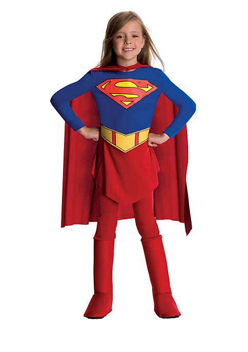 Rubie's Girls 4-6x DC Comics Supergirl Costume
