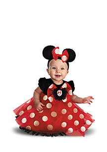 Rubie's Baby Girls Disney Red Minnie Mouse Infant Costume