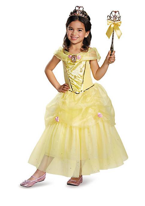Rubie's Girls 4-6x Disney Belle Deluxe Sparkle Costume