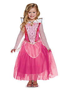 Rubie's Girls 7-16 Disney Aurora Deluxe Sparkle Costume