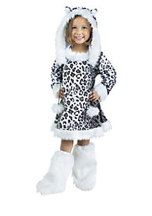 Rubie's Toddler Girls Snow Leopard Costume