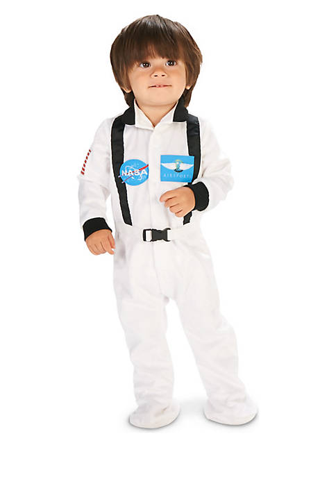 Infant Boys White Astronaut Costume