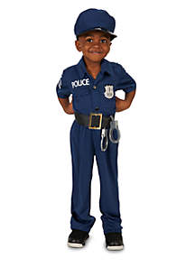 Toddler Boys Police Officer Costume
