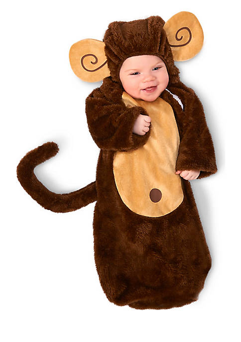 Baby Loveable Monkey Bunting Costume