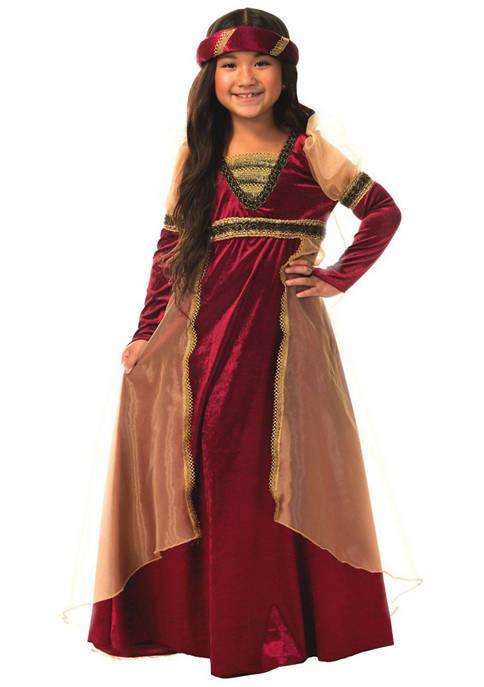 Charades Toddler Girls Renaissance Costume