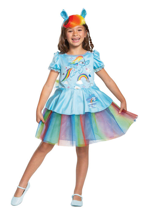 Disguise Toddler Girls Rainbow Dash Tutu Deluxe Costume