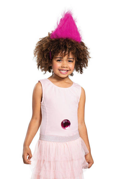 Disguise Kids Pink Trolls Headband With Gem