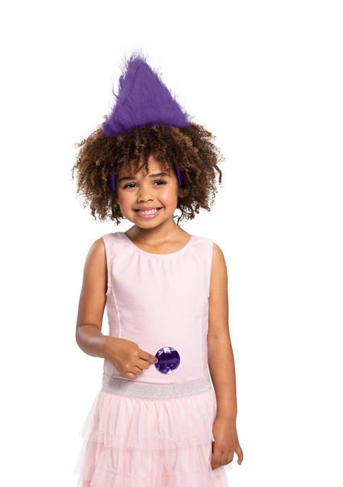 Disguise Kids Purple Trolls Headband With Gem