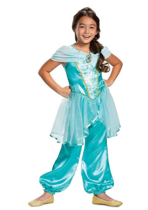 Disguise Toddler Girls Aladdin: Jasmine Classic Costume