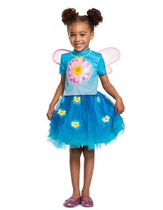 Sesame Street Abby Cadabby Little Girls Toddler Costume Hoodie