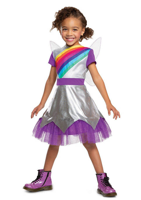 Disguise Toddler Girls Rainbow Rangers Lavender Classic Costume