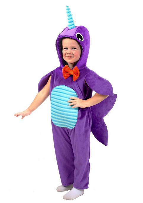 Princess Paradise Baby Minky Narwhal Costume