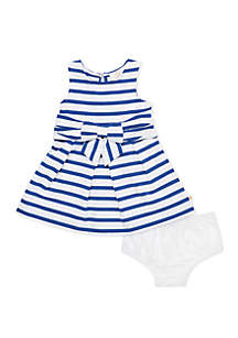 Baby Girls Jillian Stripe Dress