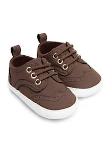 Infant Girls Chocolate Oxford Sneaker