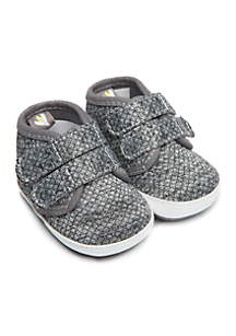 Infant Boys Quilted High Top Sneaker
