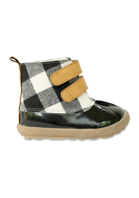 Crown & Ivy™ Toddler Black and White Check