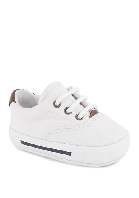 Crown & Ivy™ Baby White Lace-Up Shoes