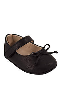 Baby Girls Black Ballet Flats