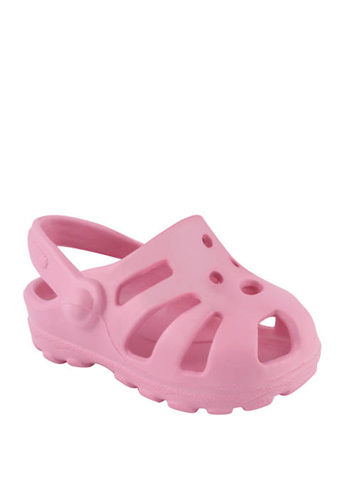 Crown & Ivy™ Baby Girls Pink Clogs