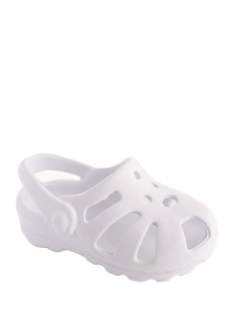 Crown & Ivy™ Baby White Clogs