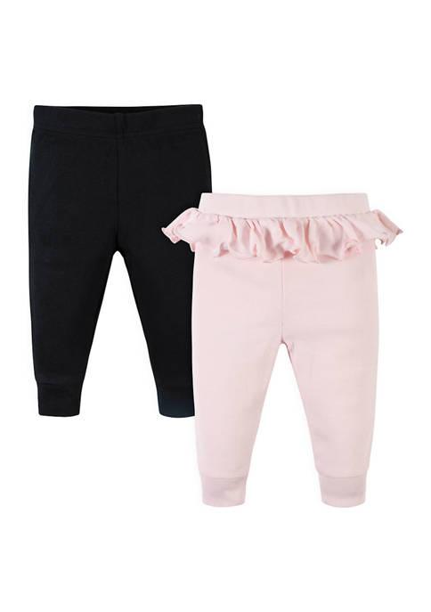 Gerber® Baby Girls 2 Pack Leopard Pants