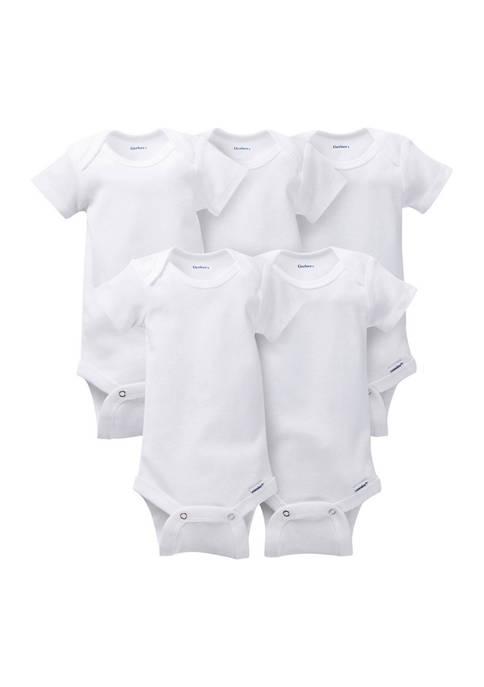 Gerber® Baby Girls 5 Pack Onesie Set