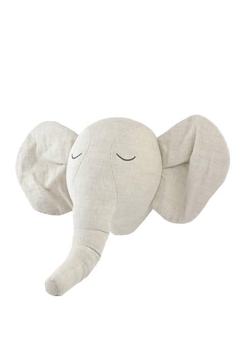 Antique Innocence Elephant Head Wall Art