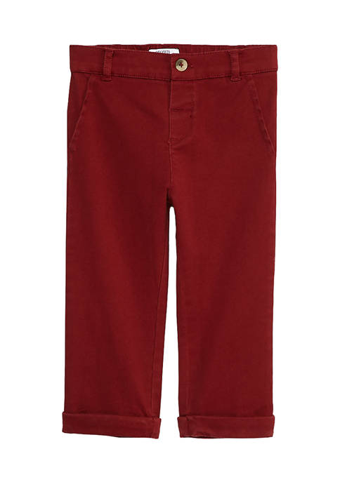 Baby Boys Rolled Cuff Pants