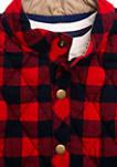 Baby Boys 3 Piece Vest Set