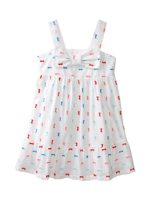 Crown & Ivy™ Toddler Girls Bow Tiered Dress