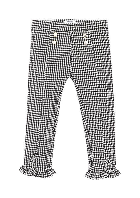 Toddler Girls Button Front Pants