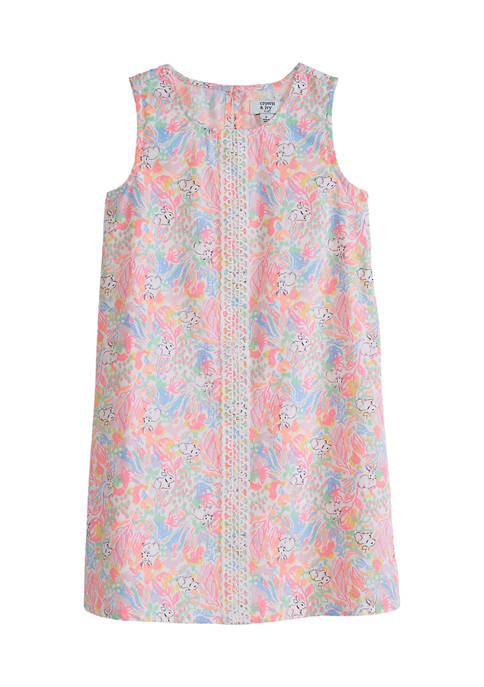 Crown & Ivy™ Toddler Girls A-Line Printed Dress