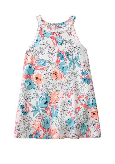 Crown & Ivy™ Toddler Girls Knit Halter Dress