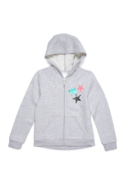 Lightning Bug Toddler Girls Long Sleeve Hoodie Jacket