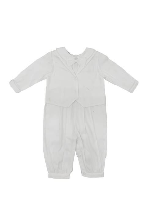 Carriage Boutique Baby Boys Mock Vest Longalls with