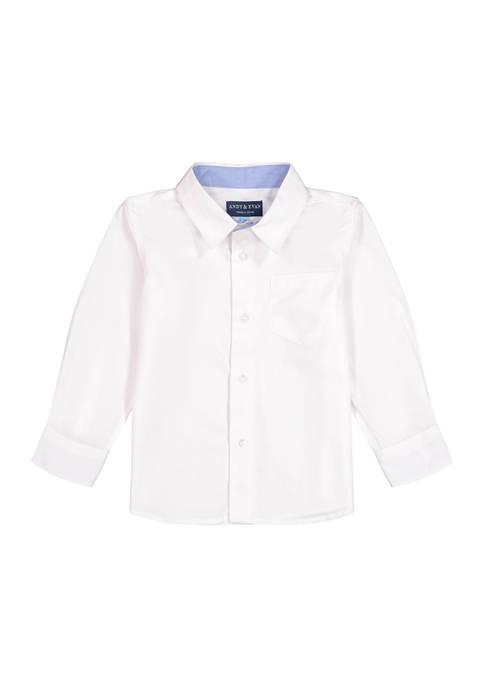 Andy & Evan Toddler Boys Button Down Shirt