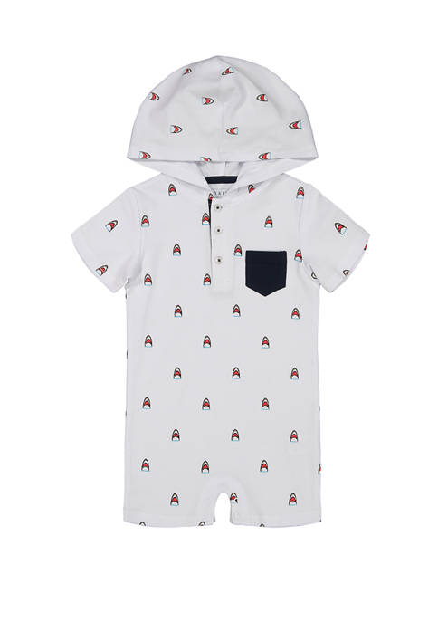 Andy & Evan Baby Boys Shark Enthralled Hooded