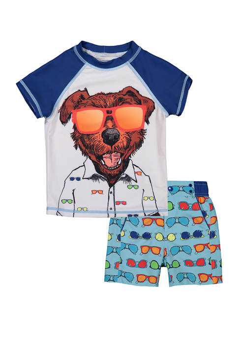 Baby Boys Rashguard Swim Set