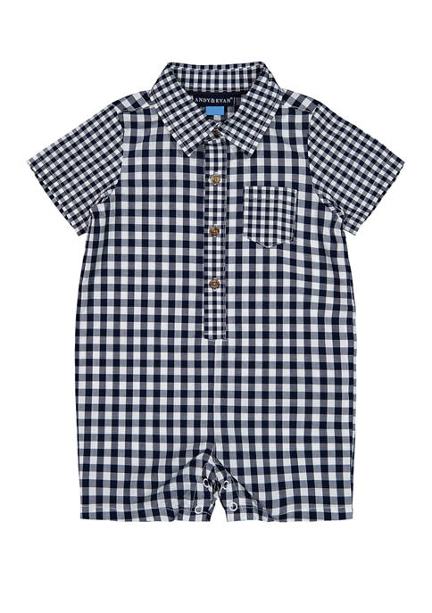 Andy & Evan Baby Boys Sunny Day Romper