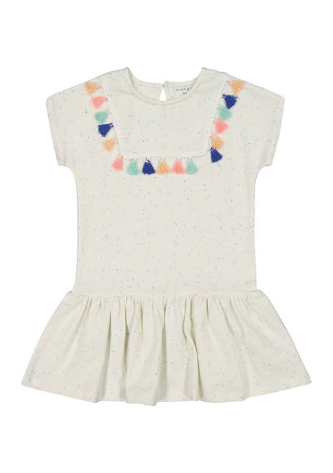 Andy & Evan Baby Girls Tassel Dress