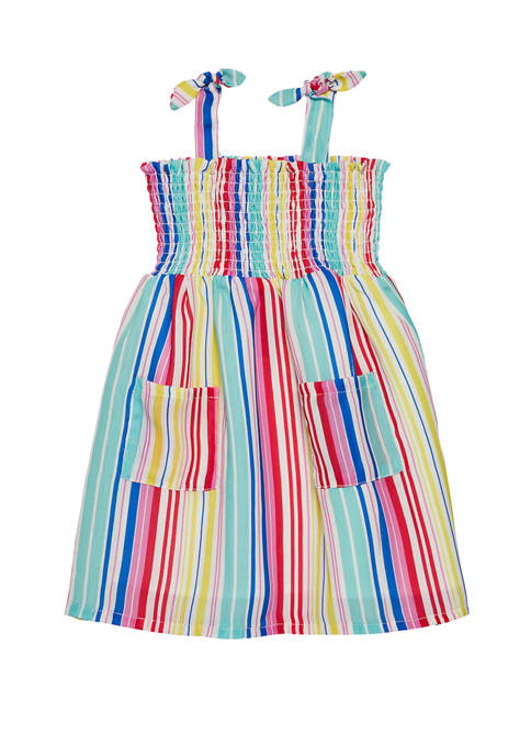 Andy & Evan Baby Girls Stripe Dress