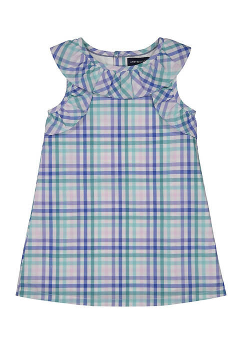 Andy & Evan Baby Girls Gingham Dress