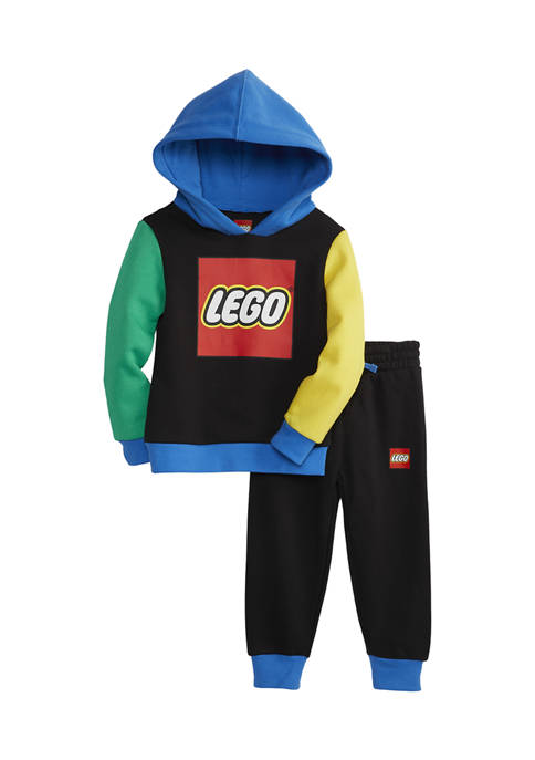 Lego® Toddler Boys 2 Piece Graphic Pullover Set