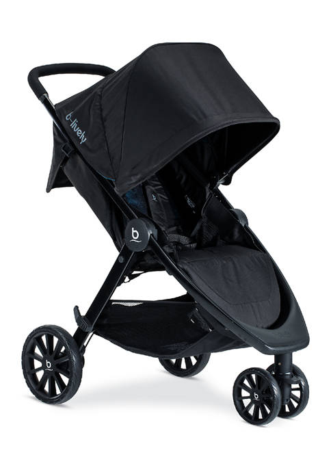 Britax Baby B-Lively Stroller, Cool Flow Teal