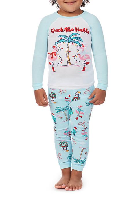 PAJAMARAMA Toddler Beach 2-Piece Pajama Set