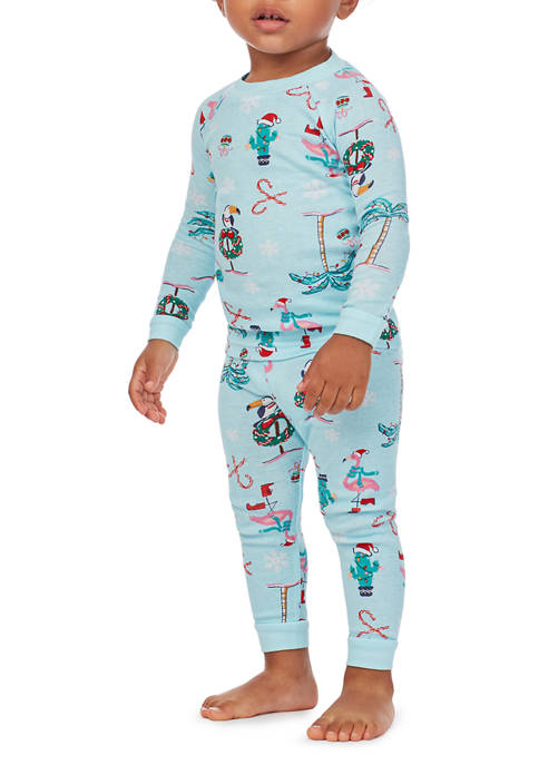 PAJAMARAMA Baby Beach One-Piece Pajamas