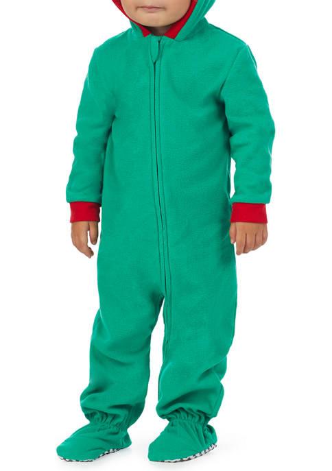 PAJAMARAMA Baby Dinosaur Family One Piece Pajama