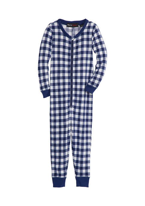 Merry Lane Toddler Buffalo Check 2-Piece Pajama Set