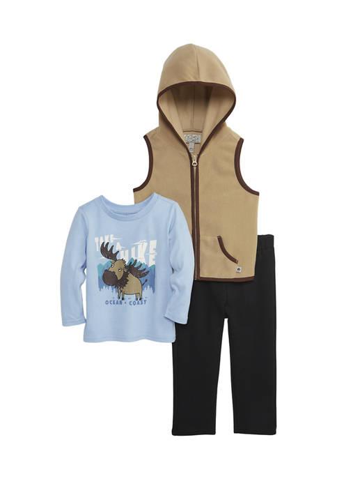 Ocean + Coast® Baby Boys Vest Set