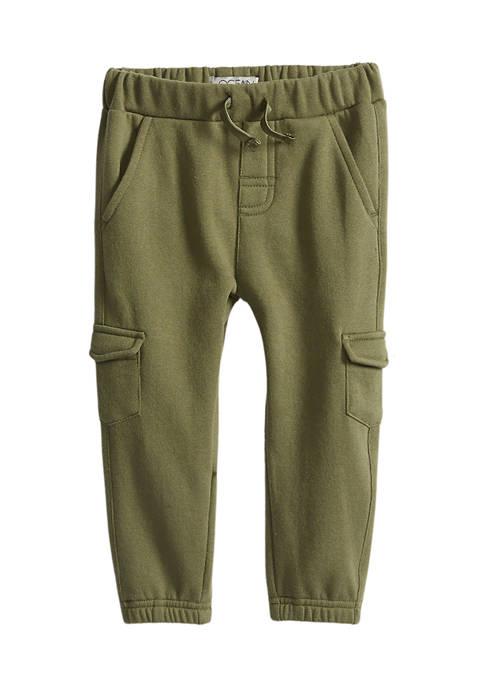 Baby Boys Fleece Cargo Pants